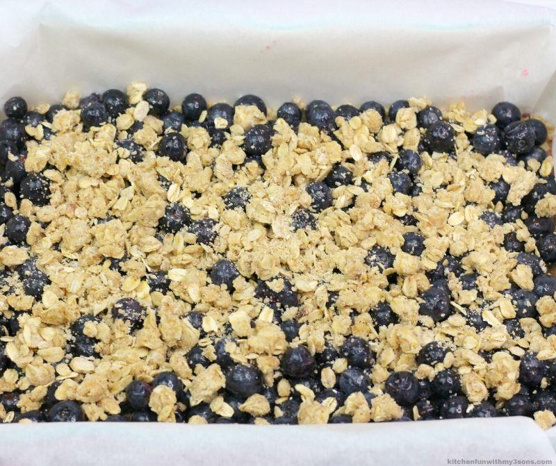 blueberry mixture