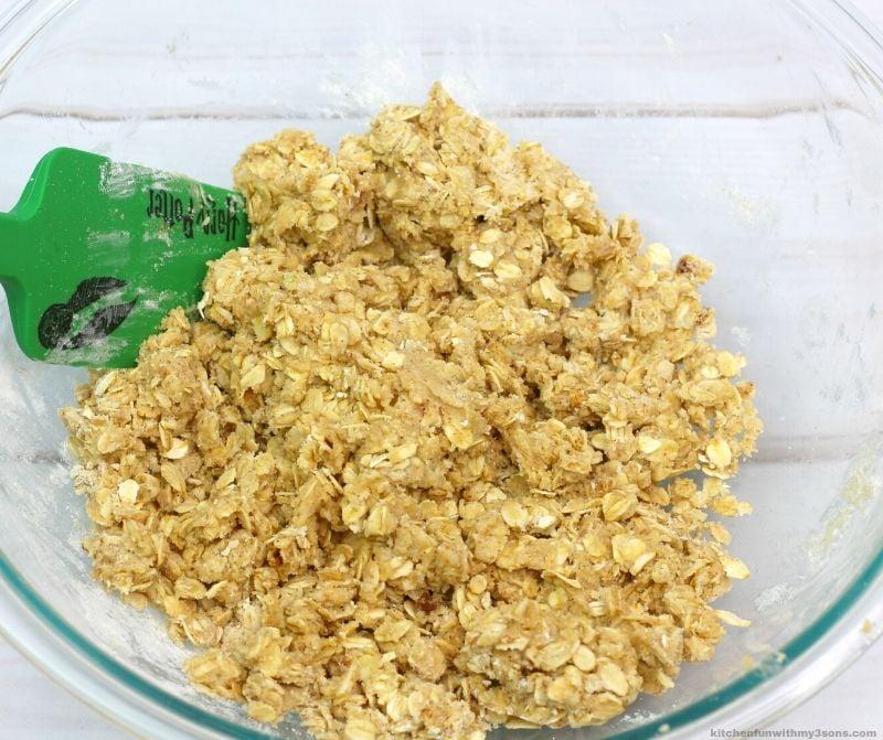batter for the blueberry oatmeal bars