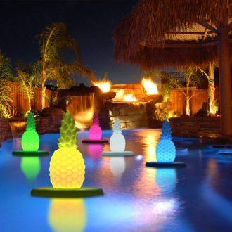Pineapple Floating Pool Lights