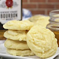 Kentucky Bourbon Cookies with Bourbon Glaze