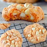 Creamsicle Orange Cookies