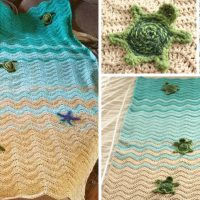 Beautiful Crochet Turtle Blanket
