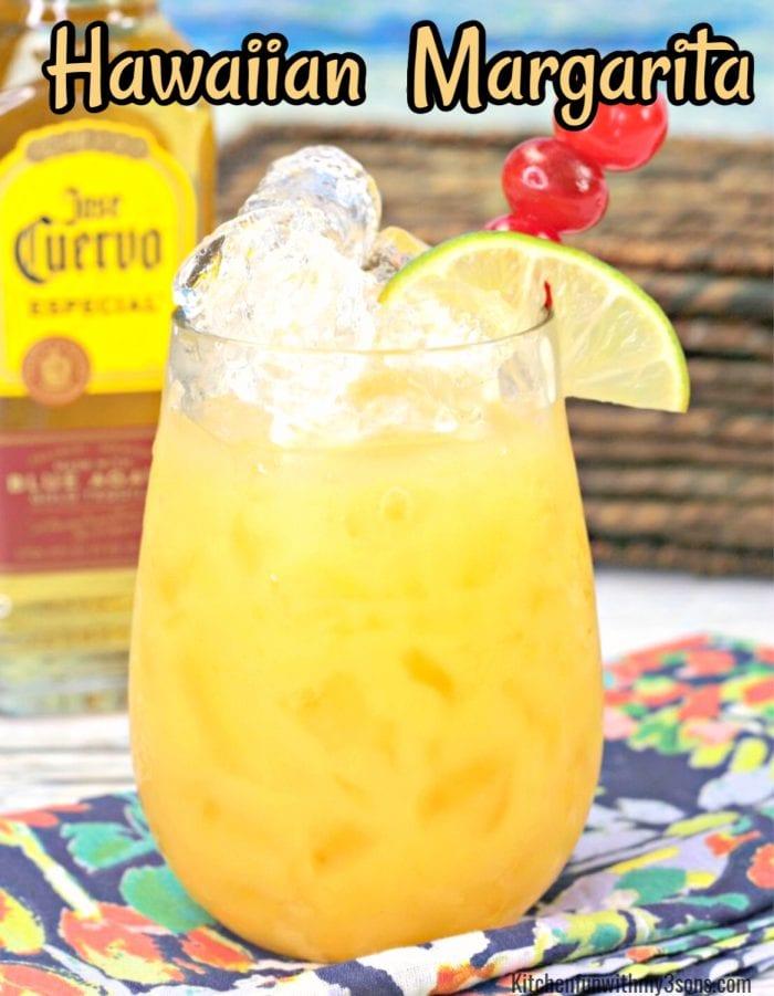 Tropical Hawaiian Margarita