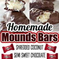 Homemade Mounds Bars