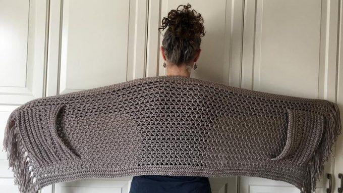 Crochet Boho Shawl