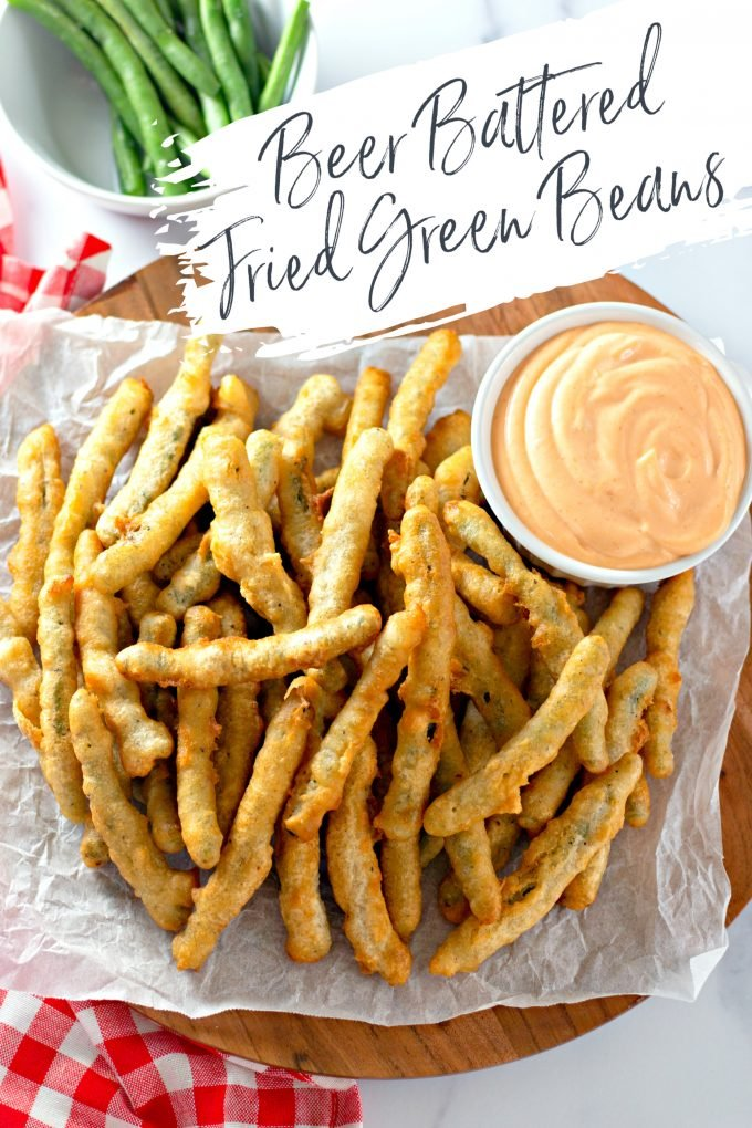 Beer Battered Fried Green Beans on Pinterest