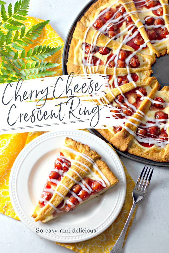 Cherry Cheese Crescent Ring on Pinterest