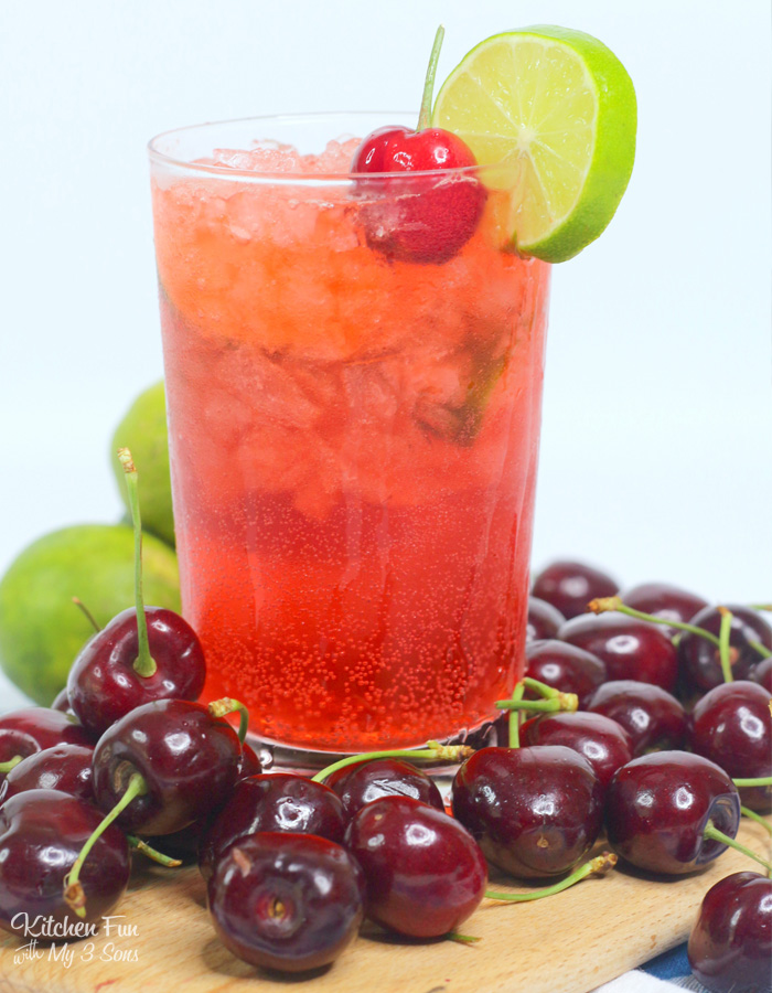 Cherry Limemade Rum Cocktail Recipe