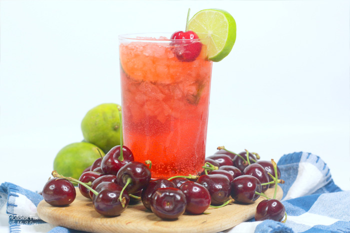 Cherry Limeade Cocktail