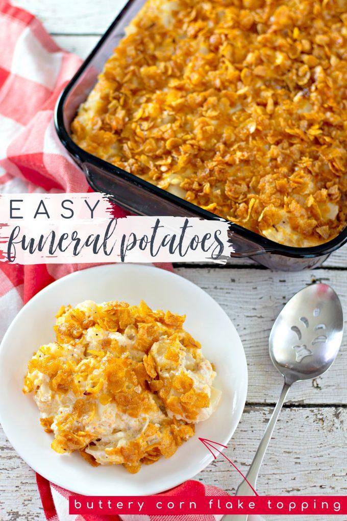 Easy Funeral Potatoes Recipe on Pinterest