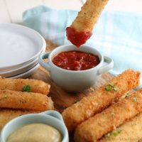 Mozzarella Cheese Sticks - Fried or Baked
