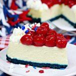 Instant Pot Patriotic Cheesecake