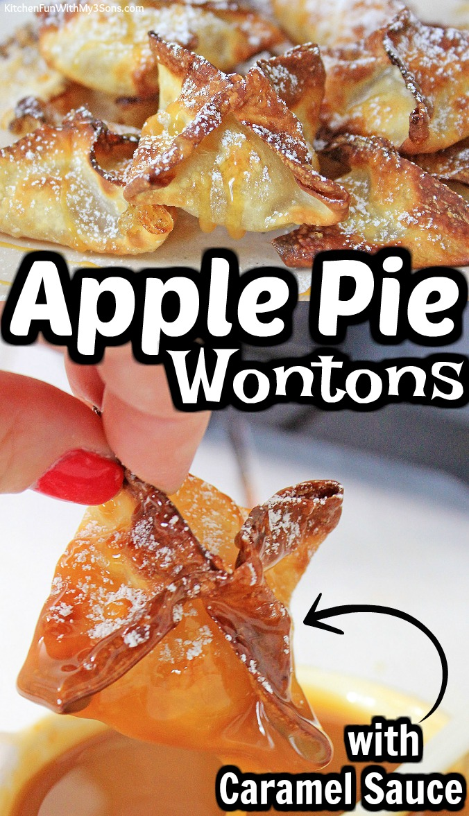 Apple Pie Wontons