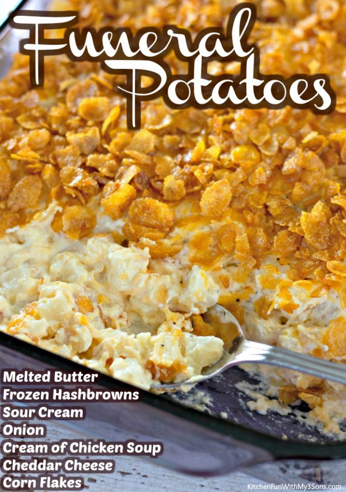 Funeral Potatoes - Thanksgiving Side Dishes