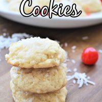 Pine Colada Cookies