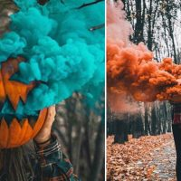 Pumpkin Smoke Bomb