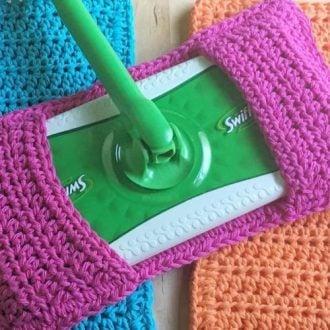 Crochet Sweeper Pads