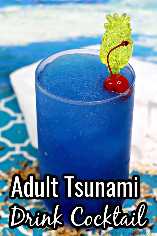 Adult Tsunami Drink Cocktail