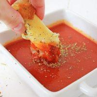 Easy Mozzarella Sticks (Air Fryer)