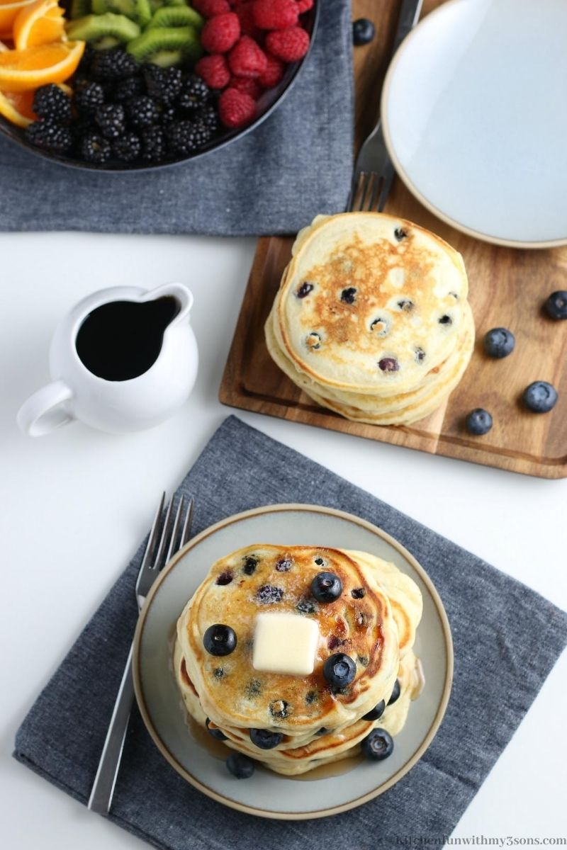 Best Blueberry Pancakes Recipe