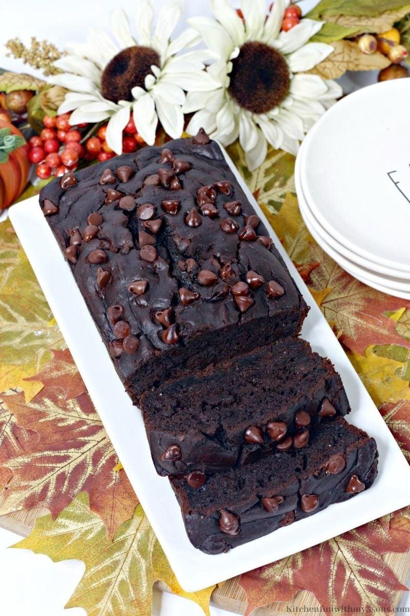 Best Ever Chocolate Pumpkin Bread Recipe