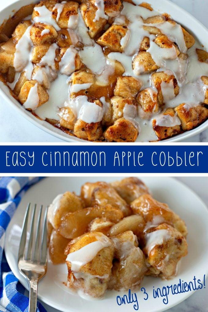 Easy Cinnamon Apple Cobbler on Pinterest
