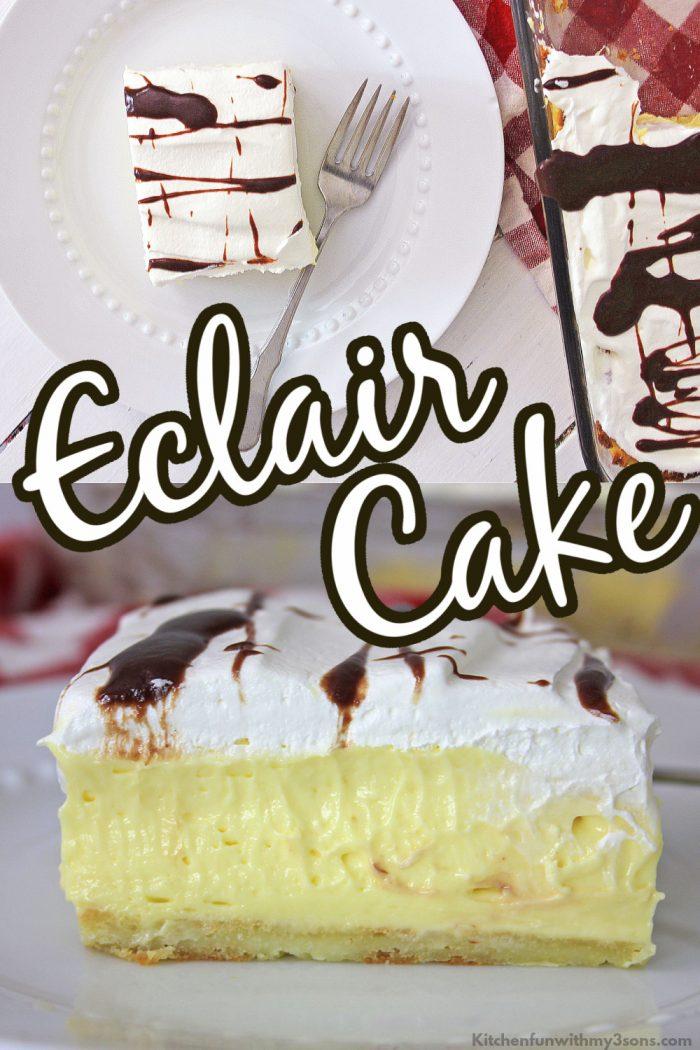 eclair cake for pinterest
