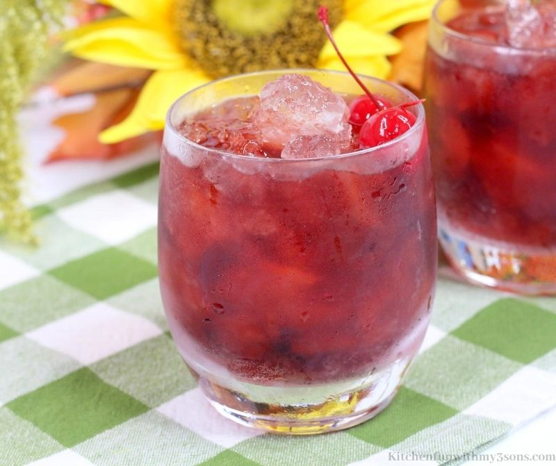 Fall Long Island Iced Tea