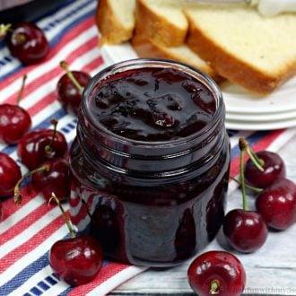 Instant Pot Cherry Jam