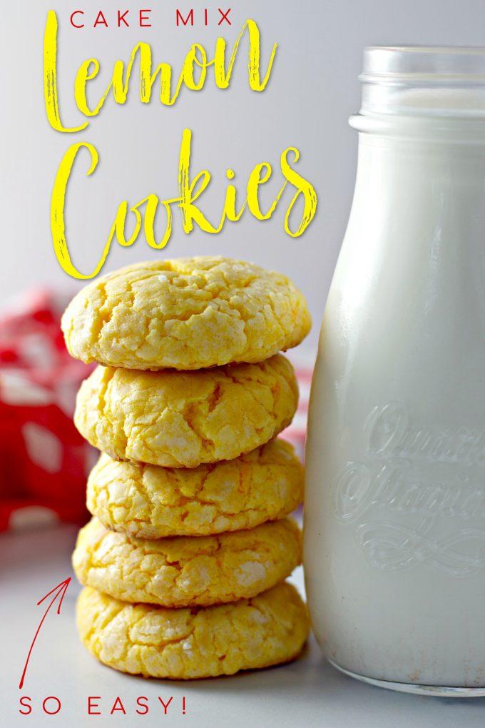 Cake Mix Lemon Cookies on Pinterest