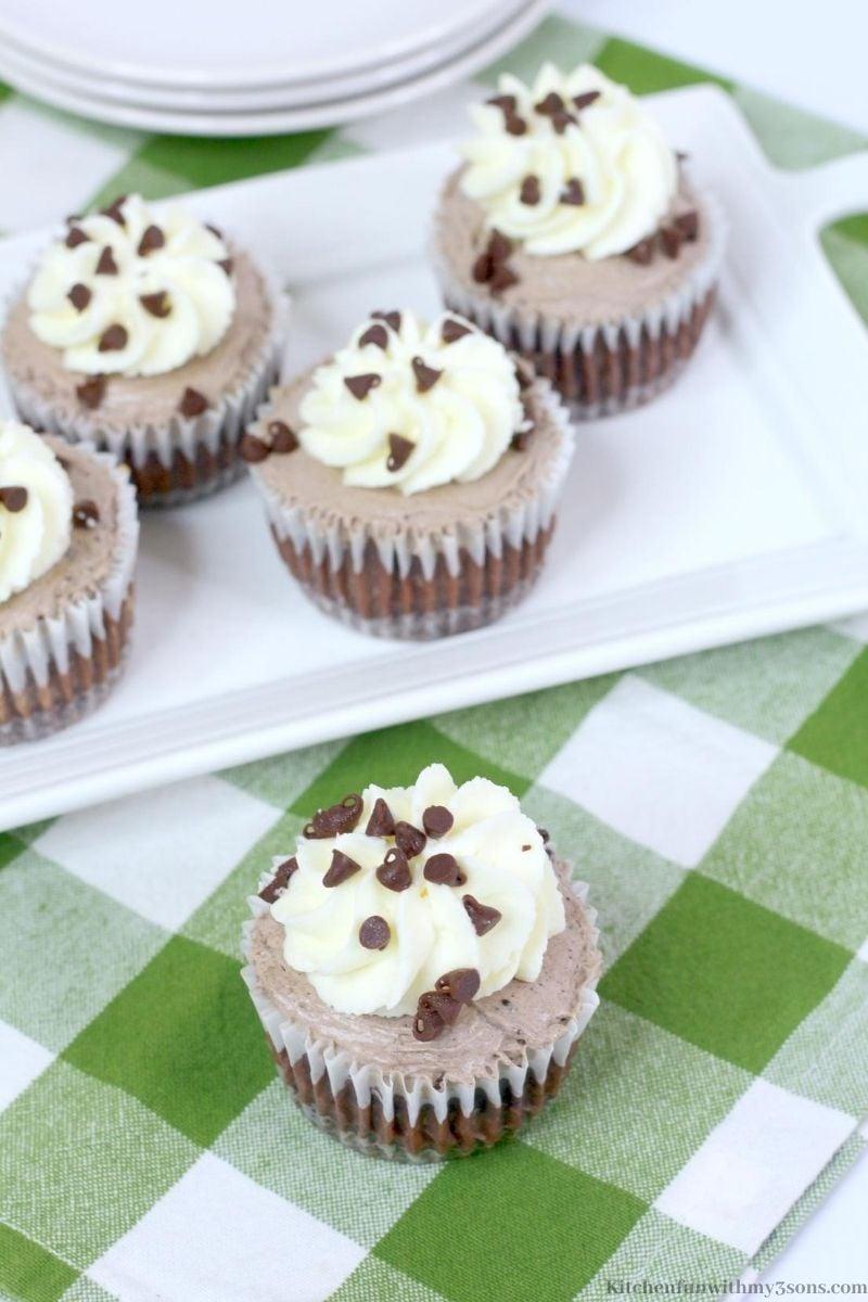 Chocolate Mini Cheesecakes