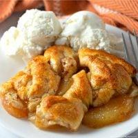 Easy Apple Dumplings Casserole (3-ingredients)
