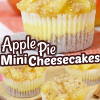 Apple Pie Cheesecake Minis