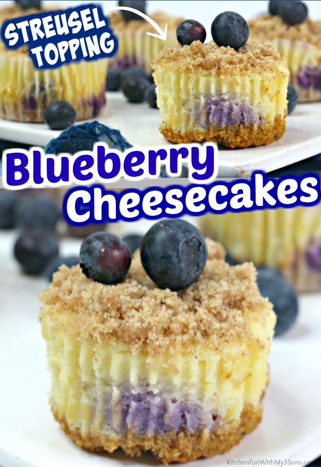 Blueberry Crumble Cheesecake