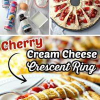 Cherry Cream Cheese Crescent Ring