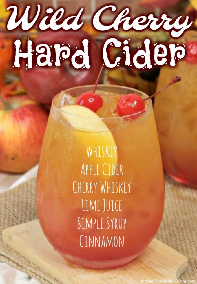 Wild Cherry Hard Cider