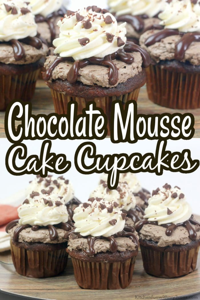 chocolate mousse cake cupcakes