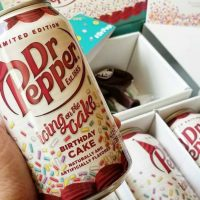 Dr Pepper Birthday Cake Flavor