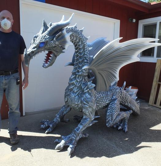 giant dragon decoration