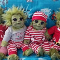 You Can Get a Grinch Baby Doll