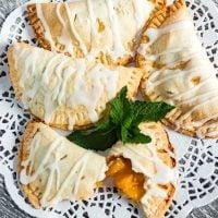 Air Fryer Peach Hand Pie Recipe