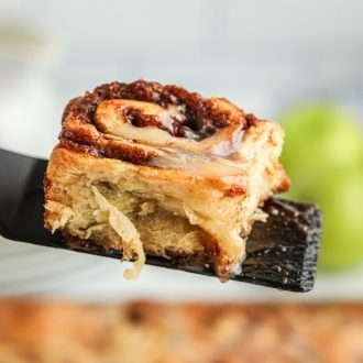 Apple Spice Cinnamon Rolls