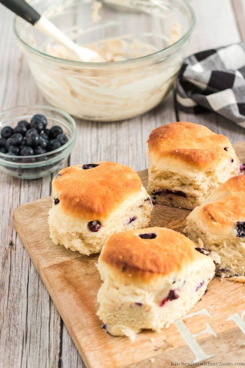 Blueberry Angel Biscuits Recipe