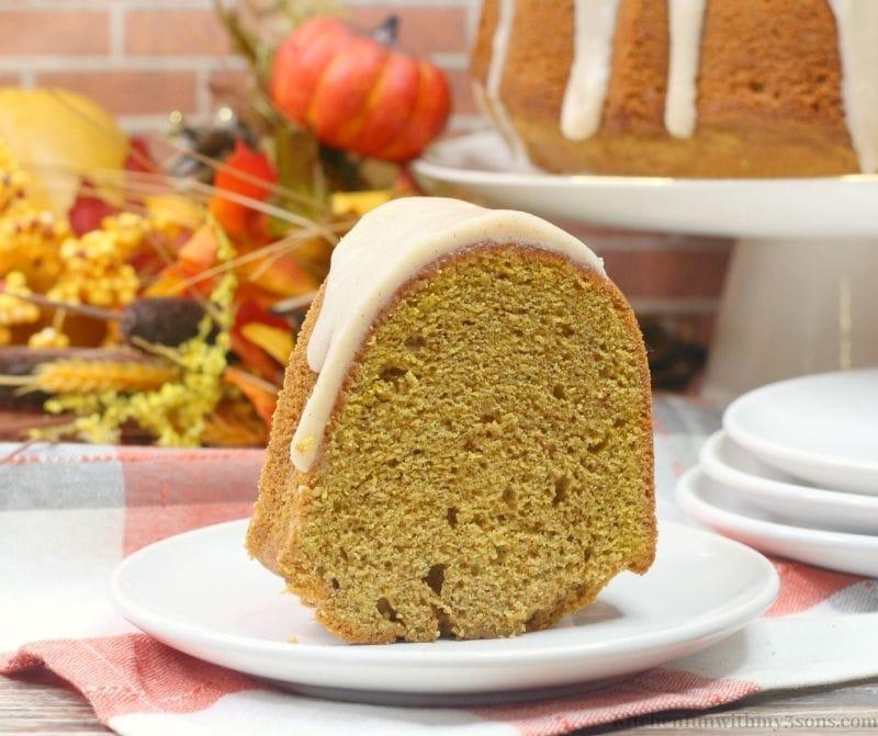 Chai Pumpkin Cake Recipe