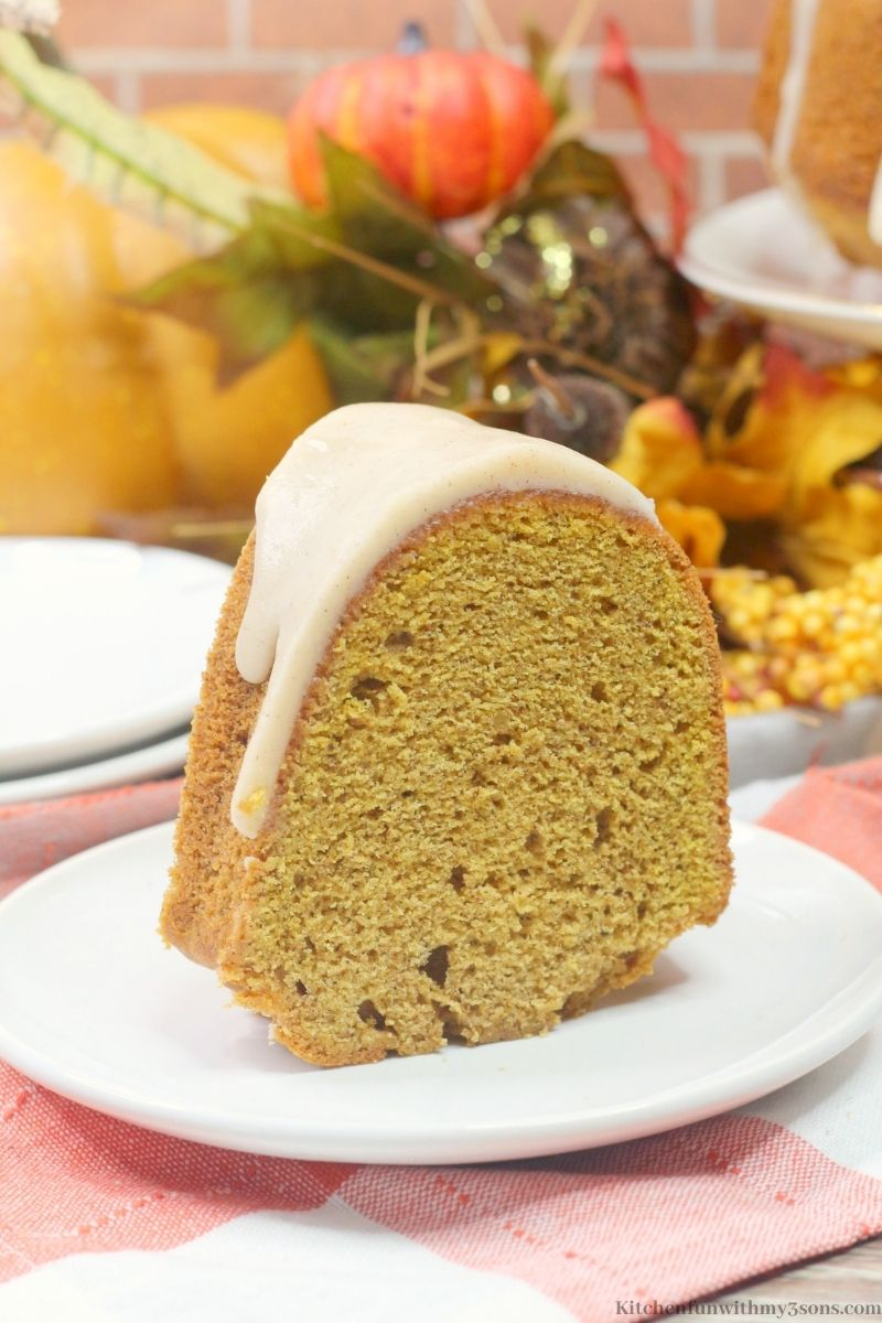 Chai Pumpkin Cake Recipe
