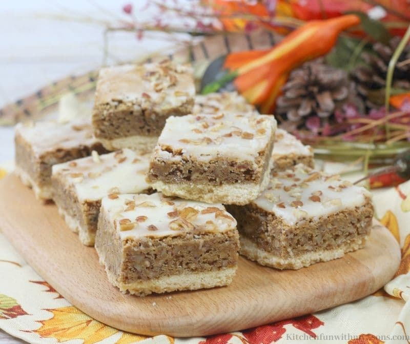 Easy Maple Pecan Bars Recipe