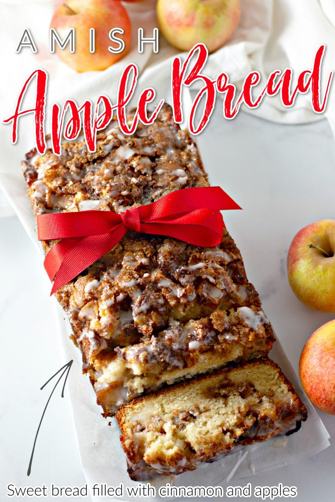 Amish Apple Fritter Bread on Pinterest