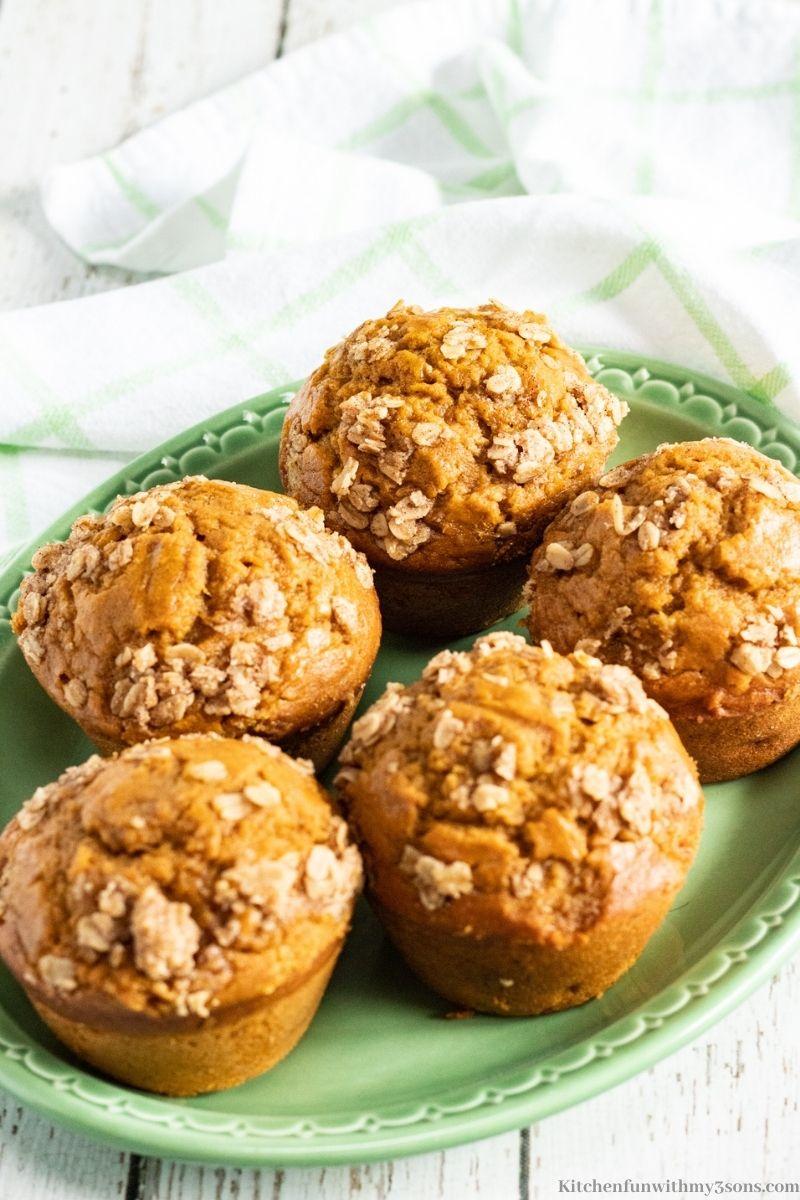 Banana Pumpkin Muffins Recipe