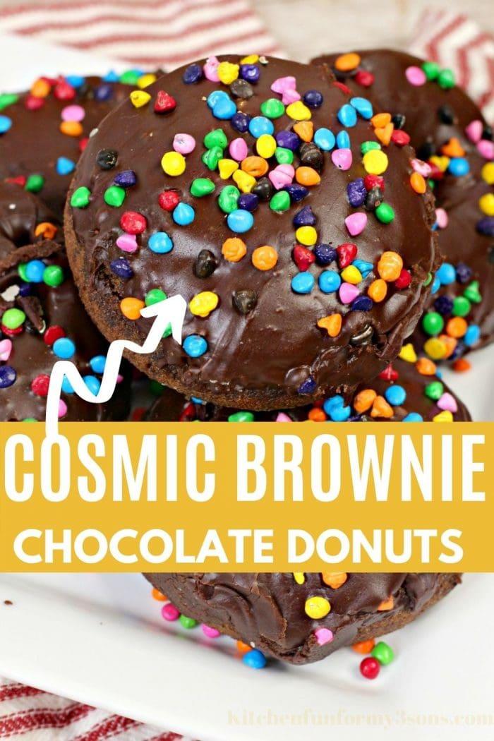 Cosmic Brownie Donuts