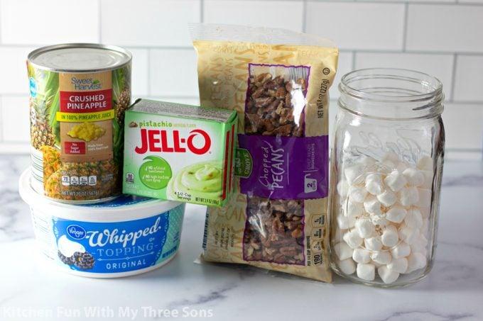 ingredients to make Easy Watergate Salad